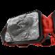 Pulsera Proud Of You con cerámica negra y escultura acabada en color antracita. Hilo rojo.