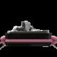 Pulsera Miss You con cerámica negra y escultura acabada en color antracita. Hilo rosa.