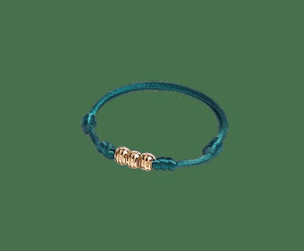 MAZE Bracelet Dark Green Cord